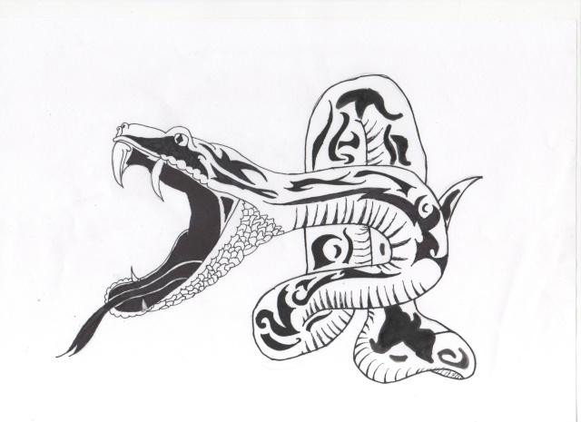 Serpent dessin fonds d 39 cran hd - Dessin de serpent ...