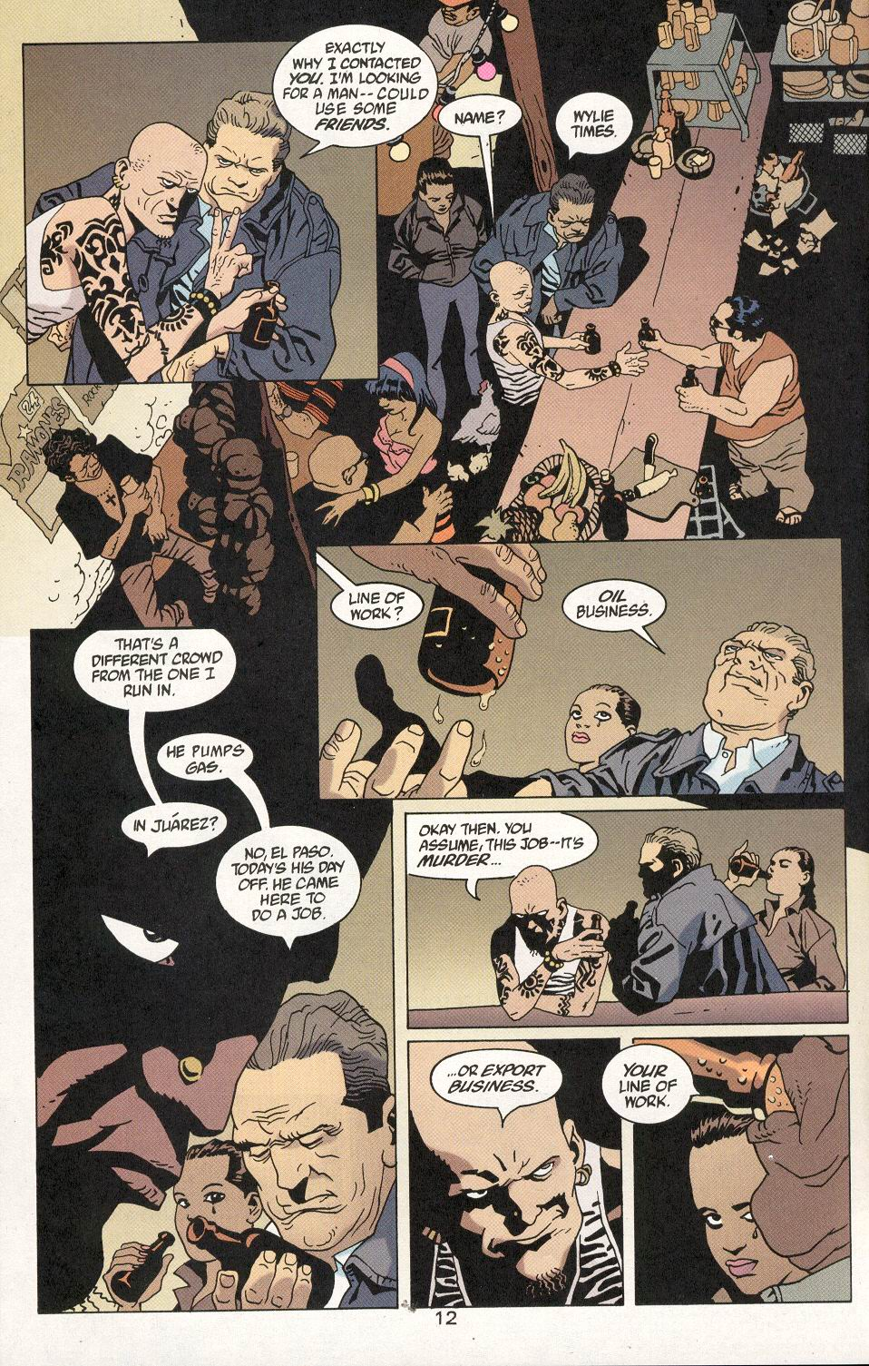 Read online 100 Bullets comic -  Issue #29 - 13