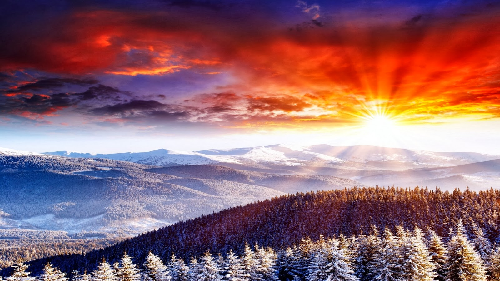 Sunrise Wallpapers | Most beautiful places in the world ...