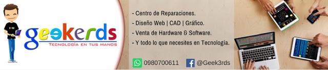 Geekerds - Todo lo que necesites en Tecnología: Servicios & Equipos.
