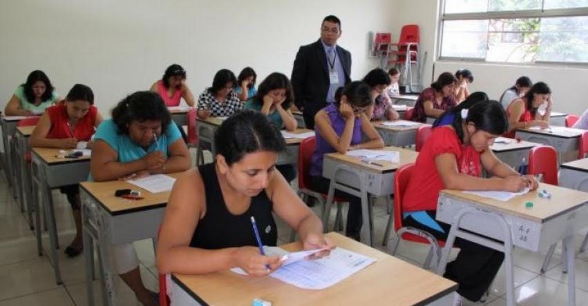 Maestros de todas las escalas rendirán examen de ascenso a nivel nacional (Prueba Única Nacional 10 Setiembre) MINEDU - www.minedu.gob.pe