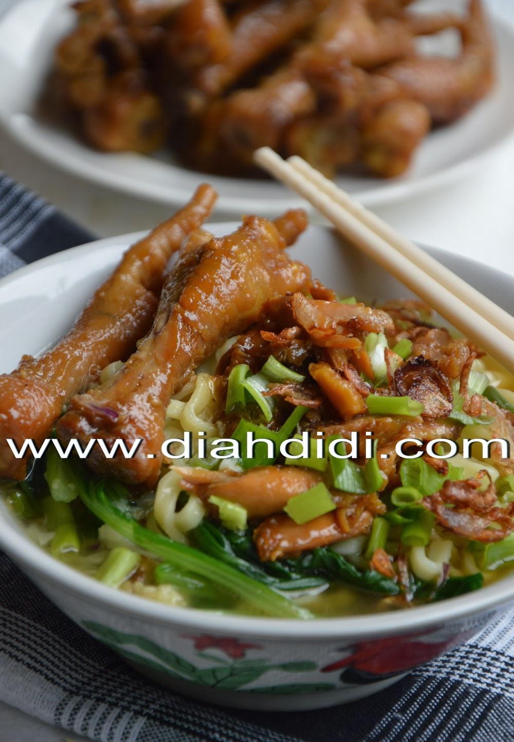 Resep Ayam Kecap Mie Ayam : resep, kecap, Resep, Kecap, Masakan, Mudah