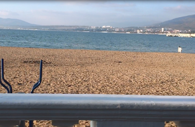 Поиск на металлоискатель по пляжу