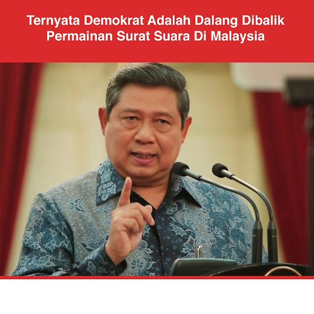 Demokrat Terlibat Dalam Sandiwara Kecurangan di Malaysia