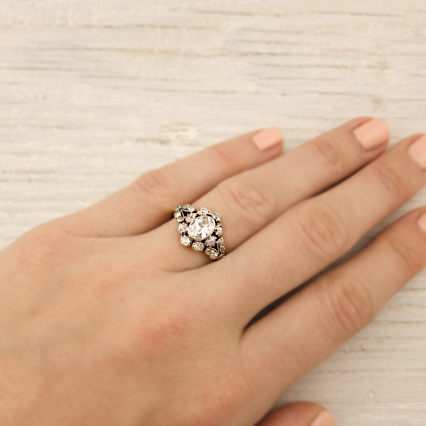 erstwhile jewelry vintage victorian engagement ring 7882 - {Frosted Find}  Erstwhile Jewelry