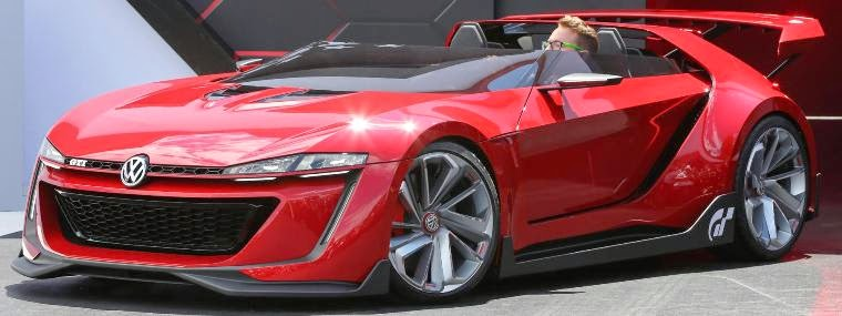 Volkswagen Gti Roadster Golf R 400 To Be On Display In L A