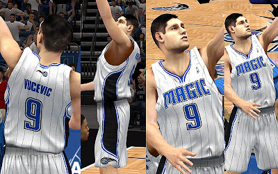 NBA 2K13 Orlando Magic Home Jersey Patch