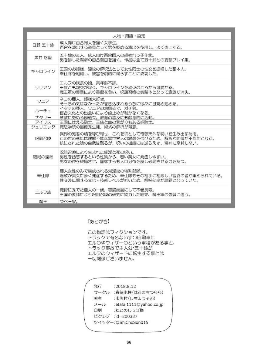 HentaiVN.net - Ảnh 67 - Tuyển tập Yuri Oneshot - Chap 113: Yuri Isekai (Mặn)
