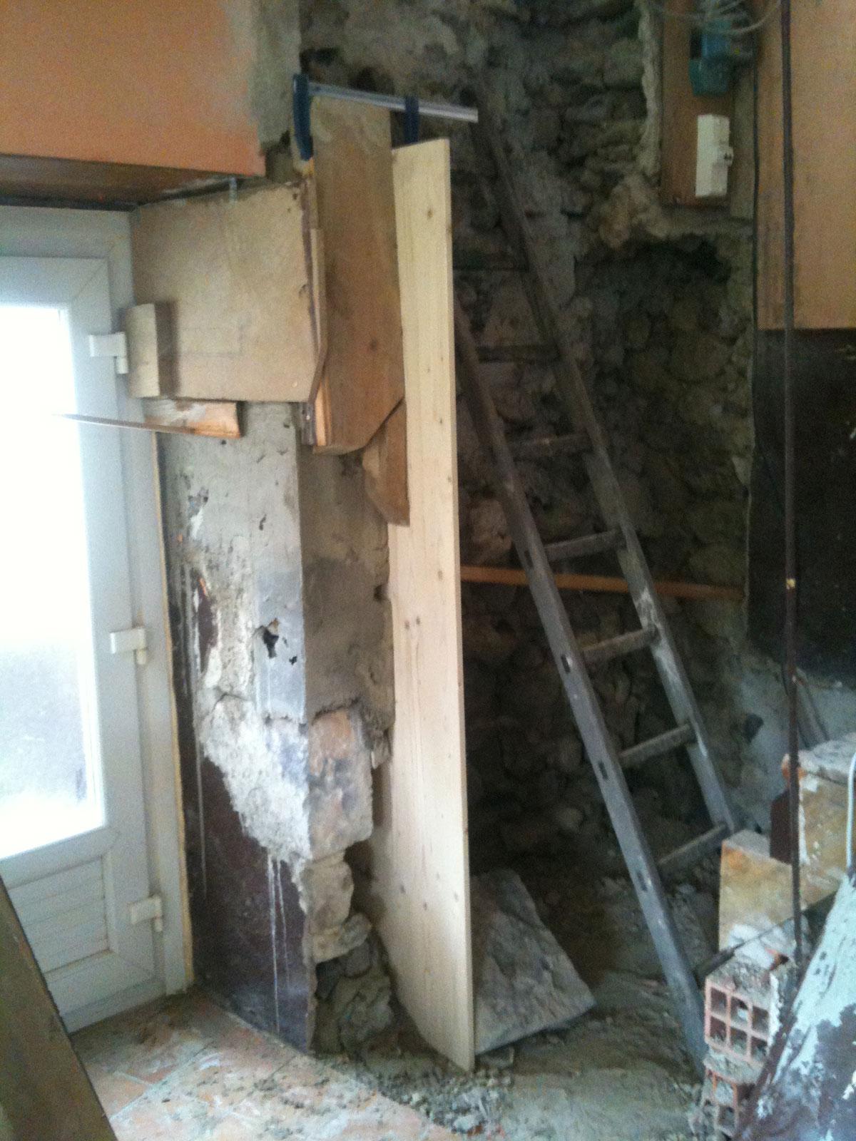 Habiller Un Pilier En Beton rénovation de ma maison: la maçonnerie