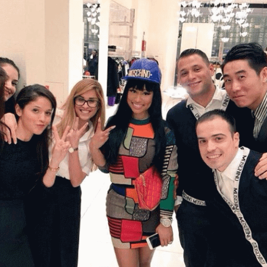 Nicki Minaj in Dubai