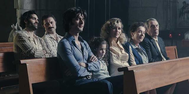 Familia y amigos de Sito Miñanco en 'Fariña'