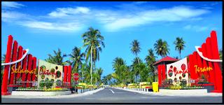Objek Wisata Pantai Tiram Padang Pariaman