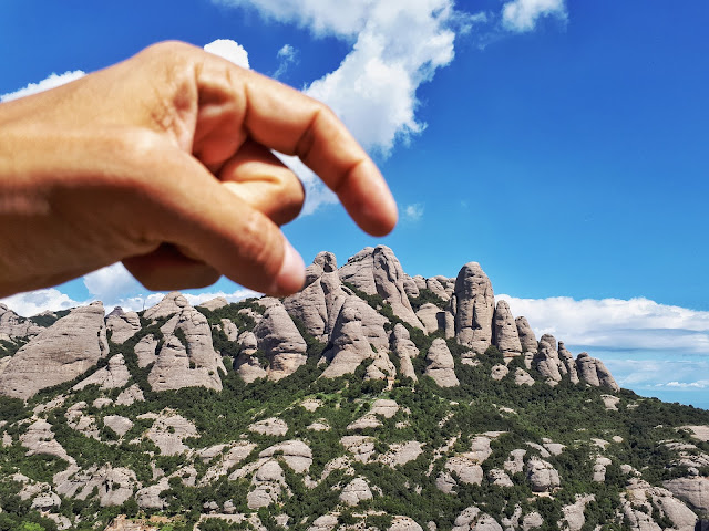 Elephant rock in Montserrat, Catalunya