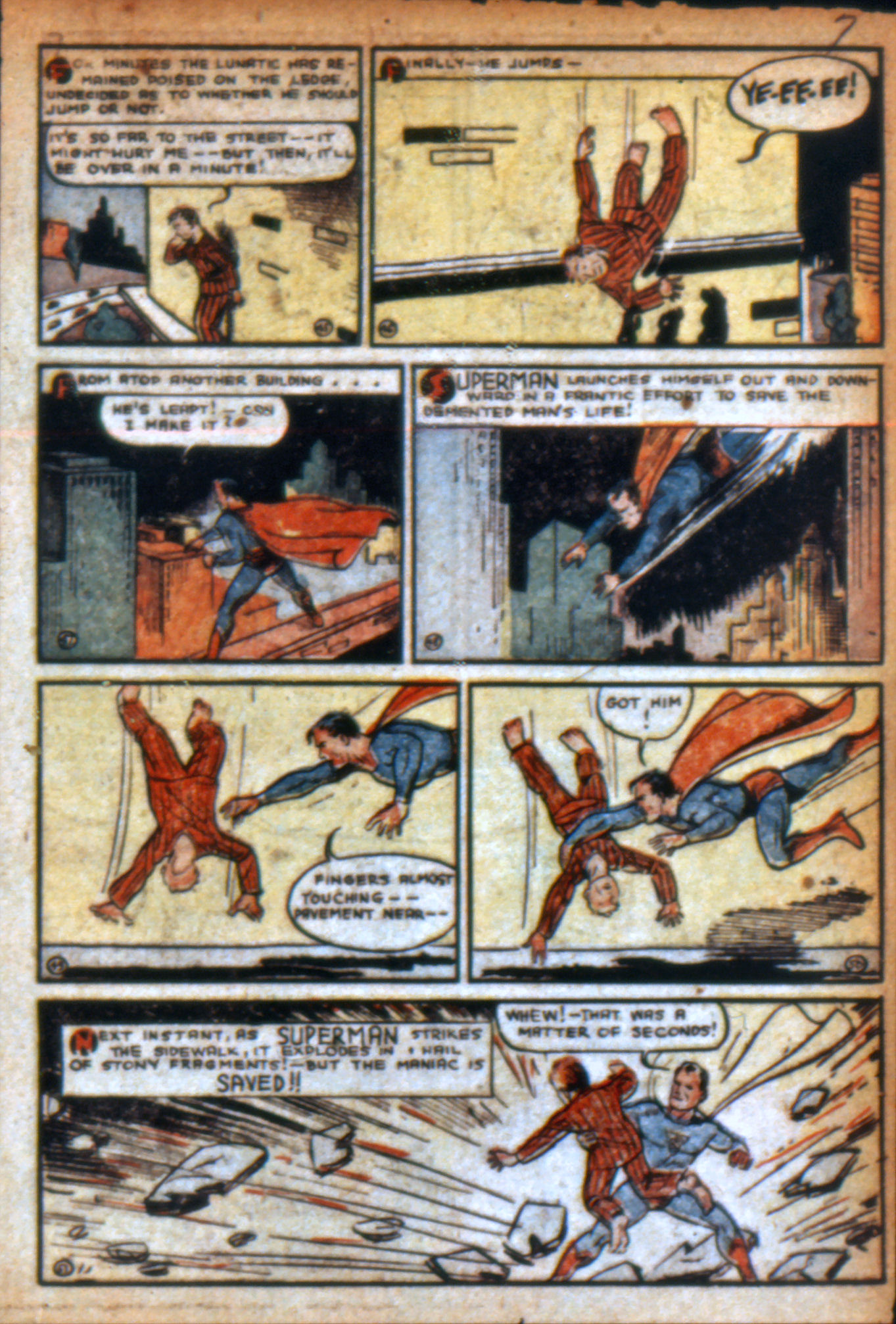 Read online Action Comics (1938) comic -  Issue #9 - 10