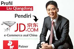 Profil Liu QiangDong Pendiri JD.COM Patner JD.ID Indonesia