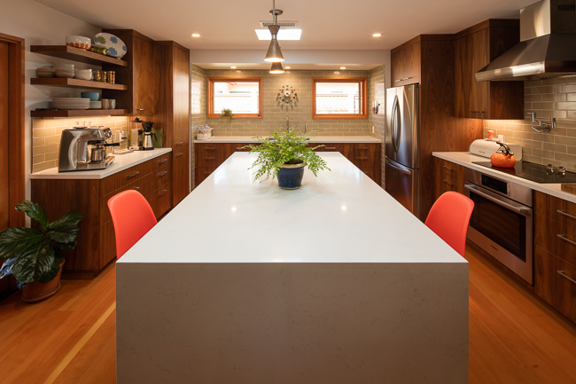 San Luis Obispo Kitchen Remodel Photographer - AIA Photographer - Studio 101 West Photography