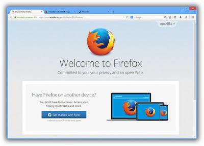 Mozilla Firefox Terbaru 2015