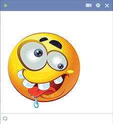Insane smiley for Facebook