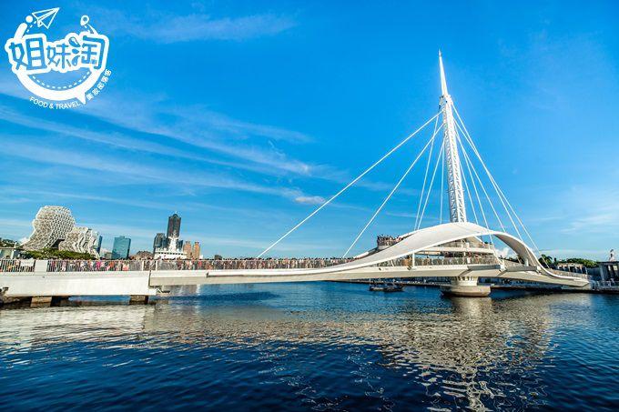 高雄絕美海上觀光聖地大港橋-交通路線安排,週邊美食,附近景點,餐車市集看這篇