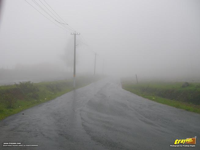 Road to Talakaveri  at Coorg, Kodagu, Karnataka, India
