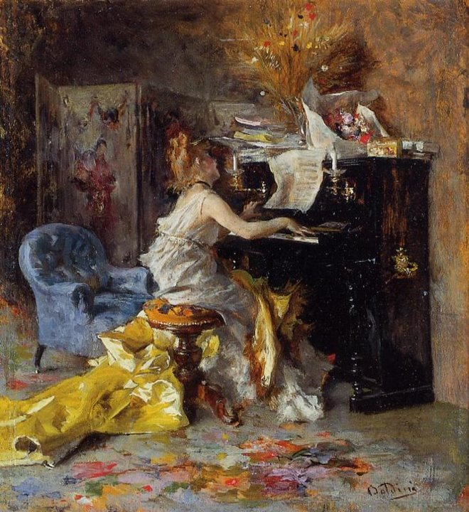 Giovanni Boldini 1842 - 1931 | Italian genre and portrait painter | La Belle Epoque
