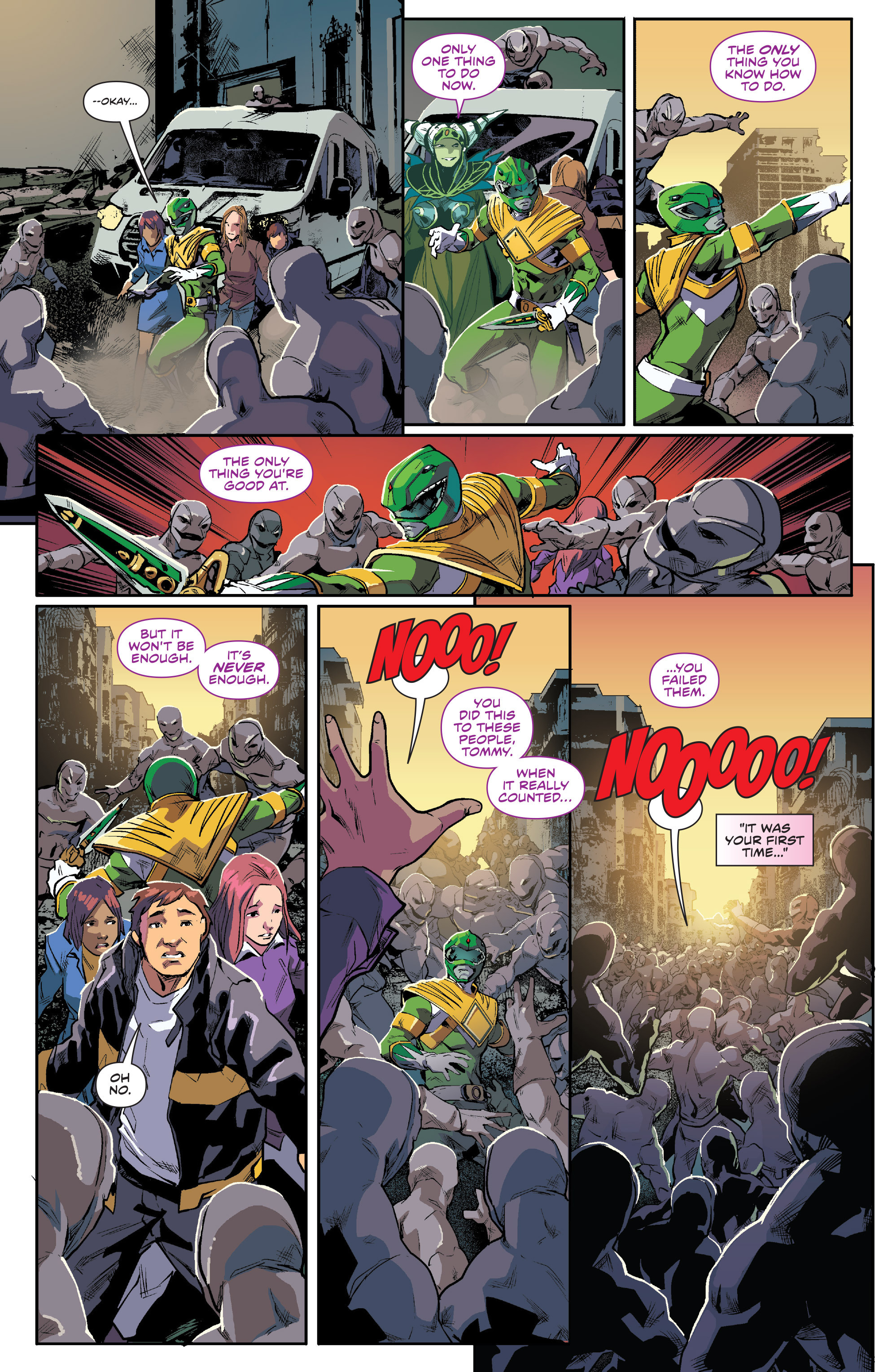 Read online Mighty Morphin Power Rangers comic -  Issue #1 - 18