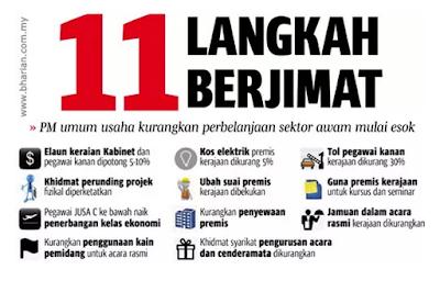 11 Langkah Penjimatan