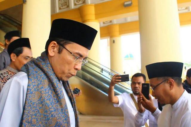 TGB Sebut Dukungan ke Jokowi Tak Terkait Pemeriksaan KPK dan Jabatan
