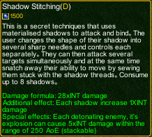 naruto castle defense 6.5 Shikamaru Shadow Stitching detail