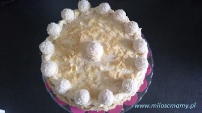 przepis na masę do tortu