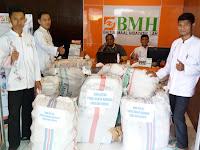 Laznas BMH Jawa Tengah Kirim Bantuan Untuk Korban Banjir Bandang di Bima