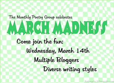 Poetry based on a theme. This month's theme is March Madness | Featured on www.BakingInATornado.com | #poem #poetry