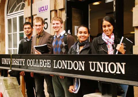Размещение студентов в Университетском колледже Лондона (University College London (UCL)