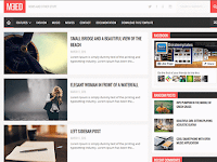 Template Blogger Gratis Meed Template