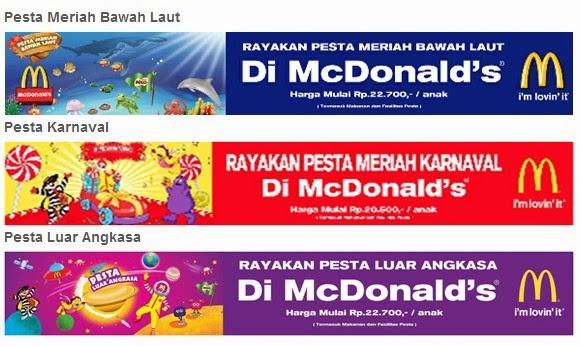 McD, paket ulang tahun mcdonald, paket birthday mcd, paket ulang tahun anak mcdonald, paket ulang tahun mcd, paket ultah mcd,