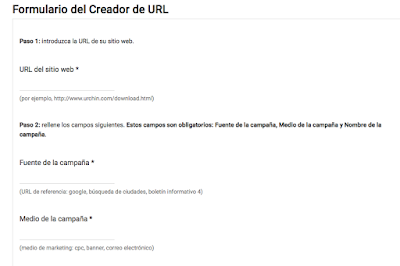 Etiquetar URLs en Google Analytics