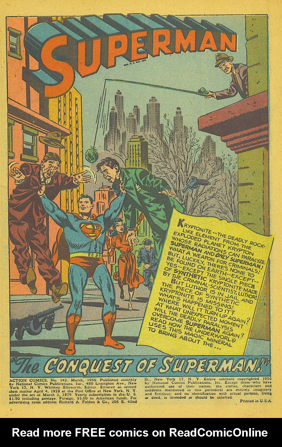 Read online Action Comics (1938) comic -  Issue #142 - 2