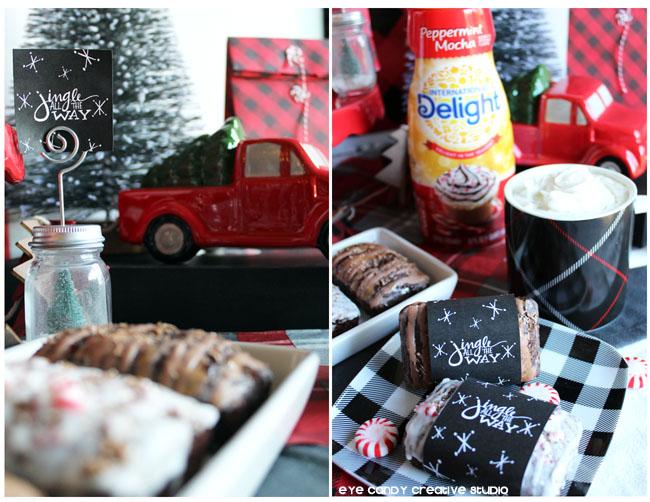delightfulmoments, holiday truck, holiday breakfast, international delight