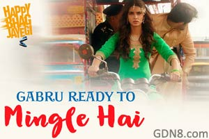 Gabru Ready To Mingle Hai – Happy Bhag Jayegi