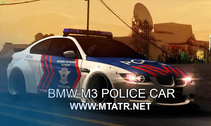MTA SA BMW M3 Police Car