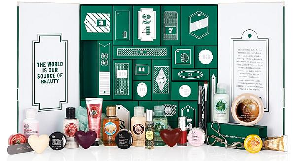 The Body Shop kalendarz adwentowy 201