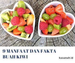 Salad buah dengan kiwi