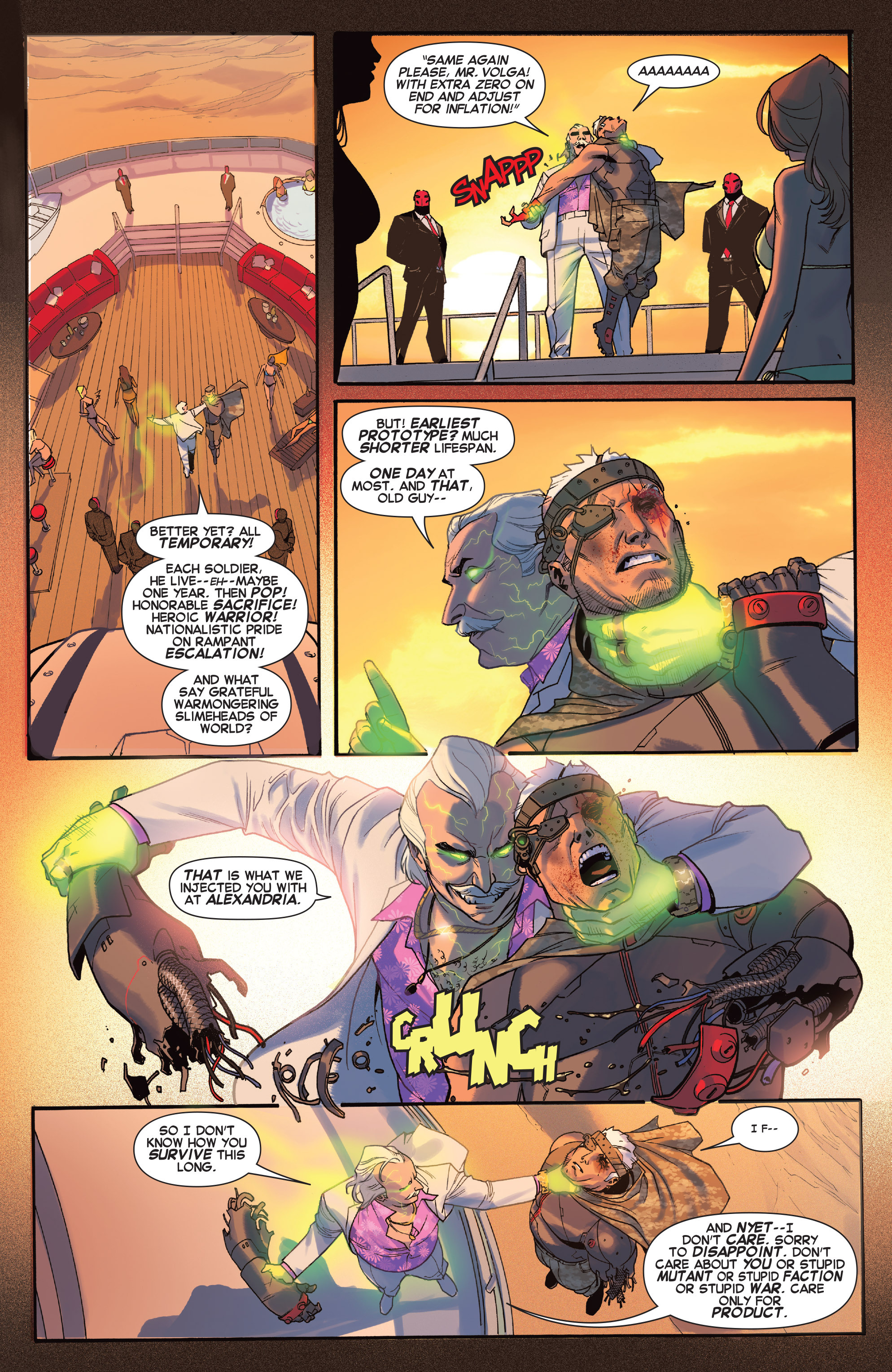 Read online X-Force (2014) comic -  Issue #5 - 19