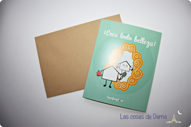 Tarjetas Superfunny Home papeleria