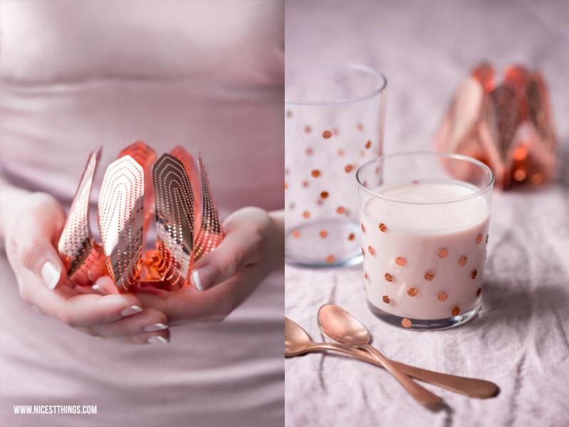 be&liv Teelichthalter Blossom und Blutorangen Drink