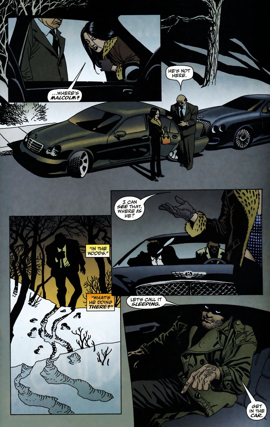 Read online 100 Bullets comic -  Issue #72 - 17