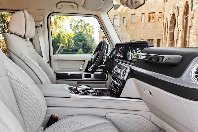 メルセデスベンツ AMG G63 新型 2018 内装