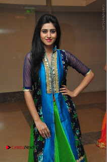 Actress Model Shamili Sounderajan Pos in Desginer Long Dress at Khwaaish Designer Exhibition Curtain Raiser  0050.JPG