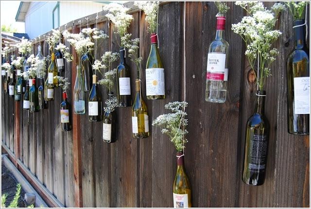 Mẫu thiết kế hàng rào đẹp làm bằng nguyên liệu tử thiên nhiên
