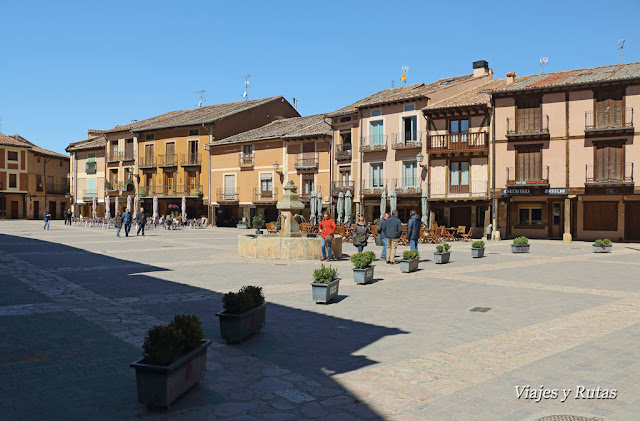 Plaza mayor de Ayllón, Segovia